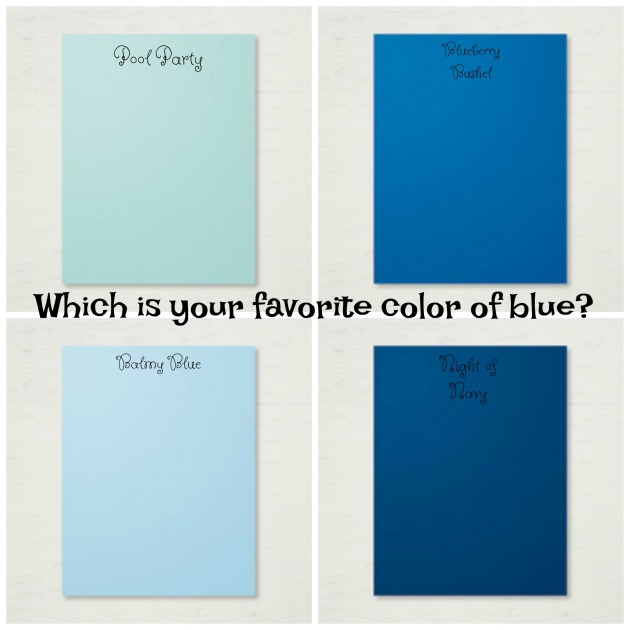 Favorite color Blue