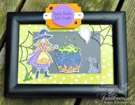 Halloween Framed Art