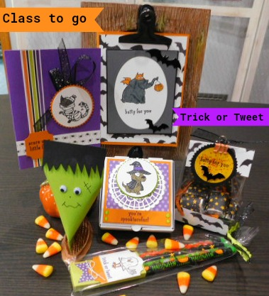 Trick or Tweet Class to go